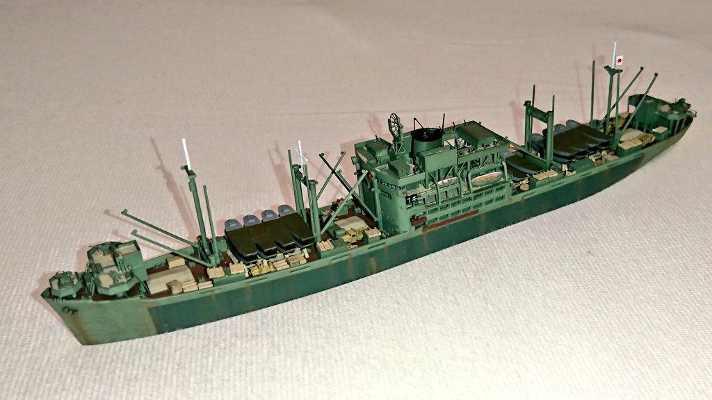 """熊式 on Twitter: """"16.一等輸送艦 第9号 あの多号作戦を何度も生還した ..."""