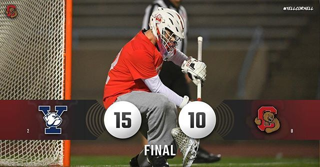 Yale outlasts Cornell Ivy lacrosse semifinal