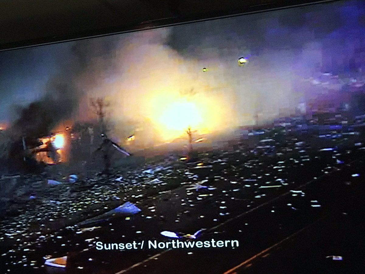 'Ground-shaking' explosion at an industrial complex in Lake County, Illinois…