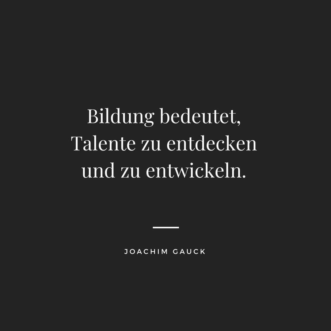 Tägliche Zitate On Twitter Was Joachim Gauck Sagt
