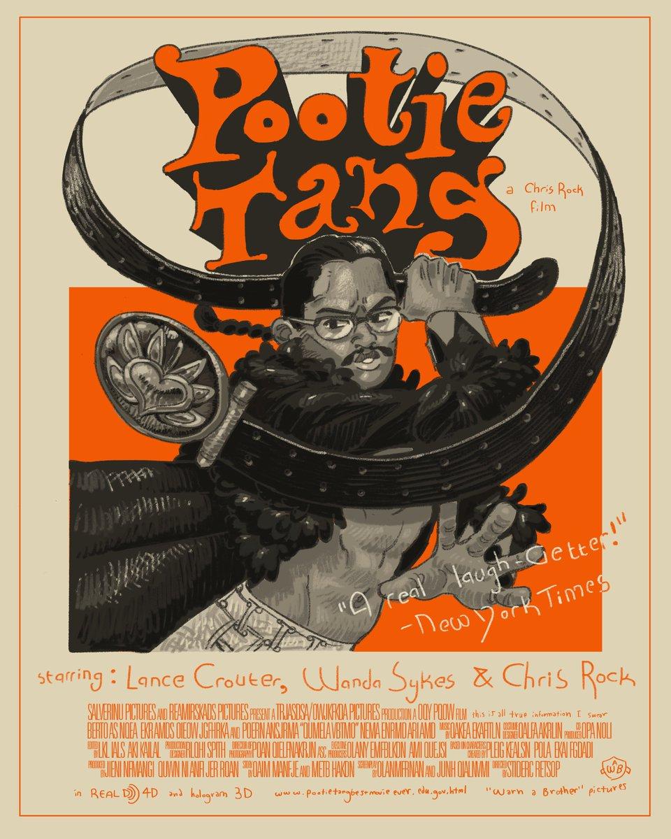 Poster pootie tang Pootie Tang
