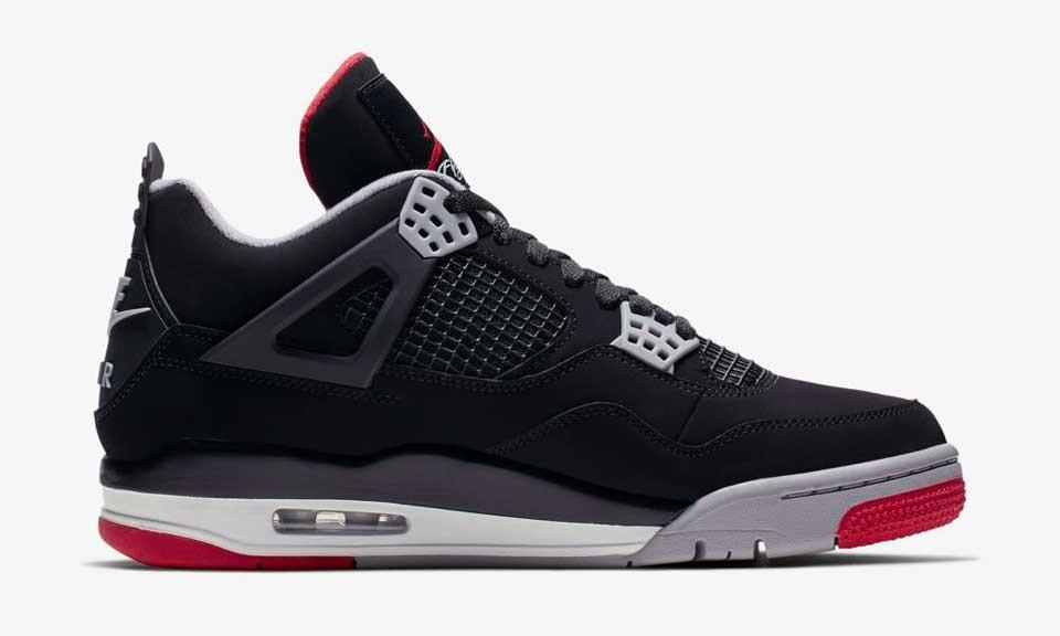 online store c459e a6fa0 the nike air jordan 4 bred retro finally drops today here s where to buy it