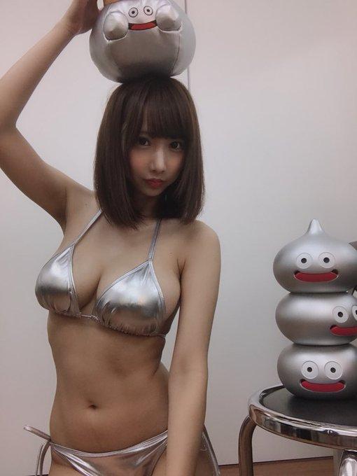 グラビアアイドル小澤らいむのTwitter自撮りエロ画像14