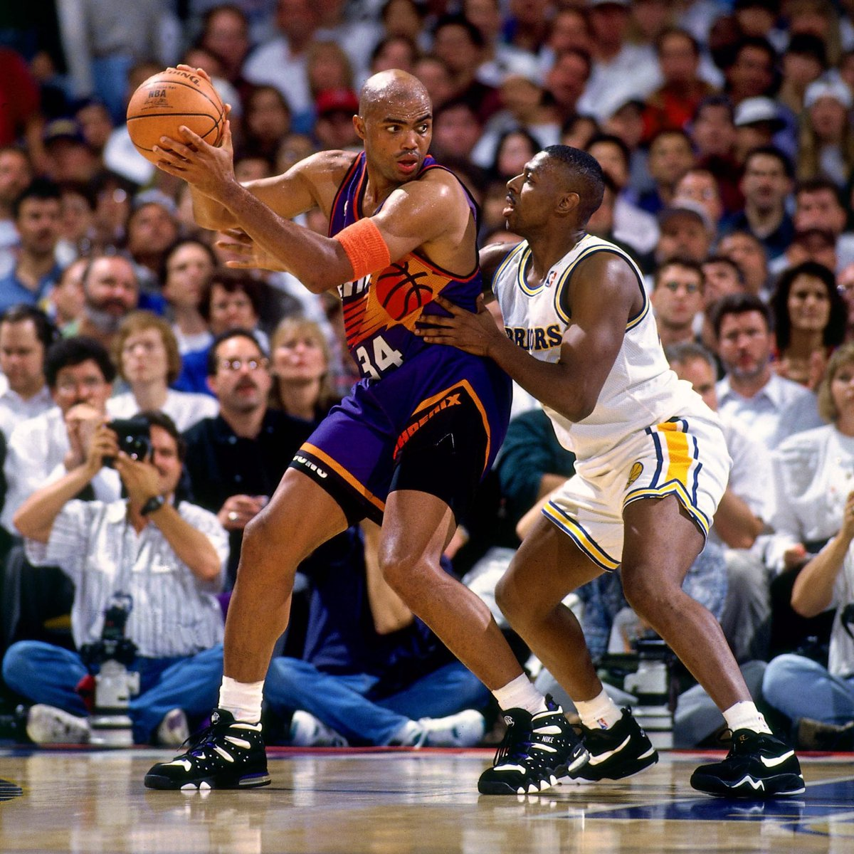1994, Charles Barkley lit up the Golden