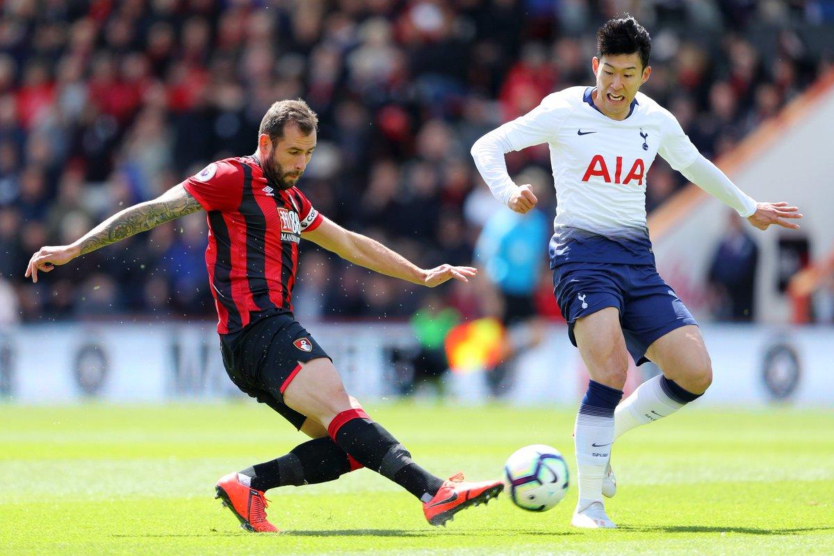 Chơi 'chấp người', Tottenham thua đau Bournemouth