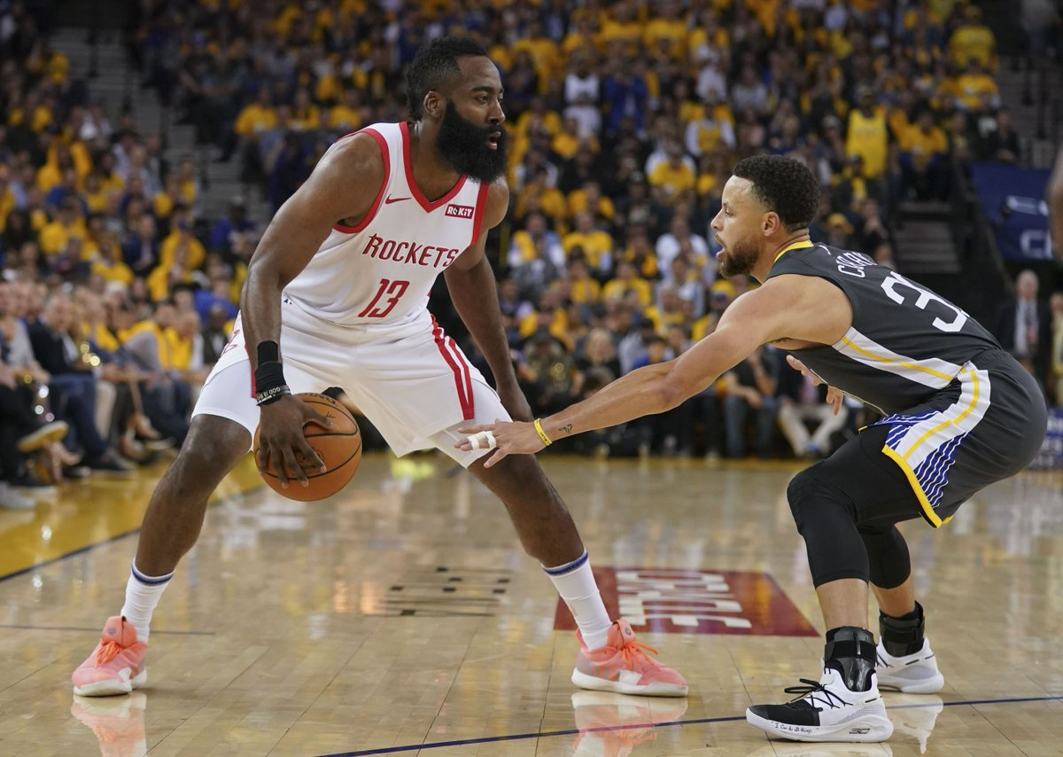 55aa6d11f5d6 By me.  https   www.goldenstateofmind.com 2019 5 4 18529161 nba-2019-playoffs-warriors-rockets-game-2-stephen- curry-defends-james-harden utm campaign  ...