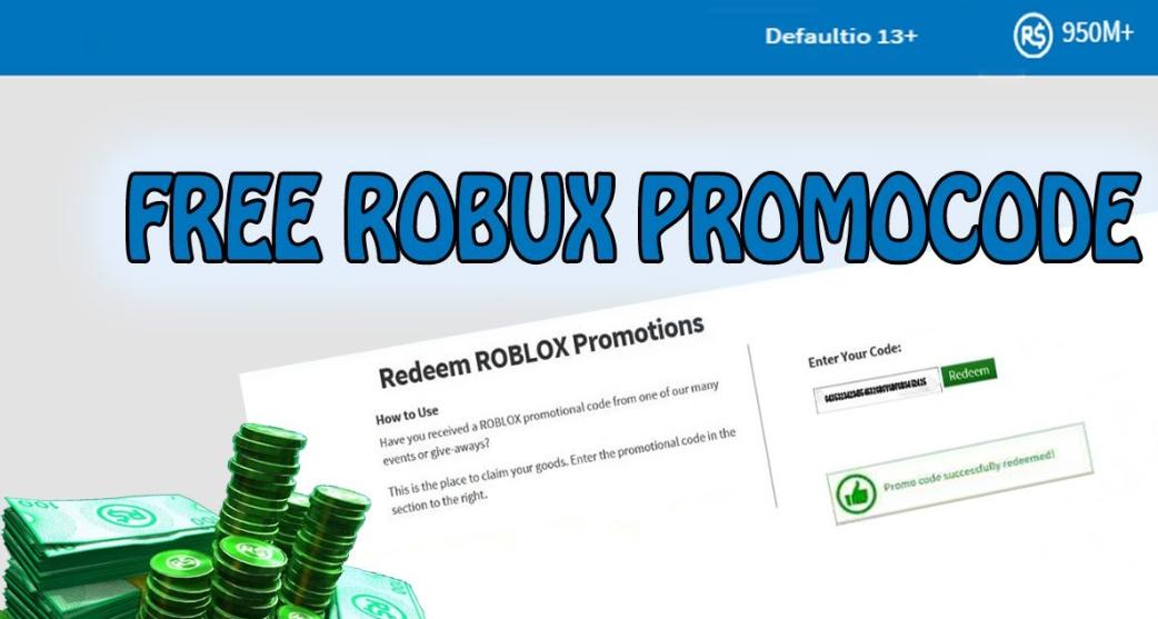 Roblox Promo Codes That Work 2019 | Free Robux 100 Real 2019
