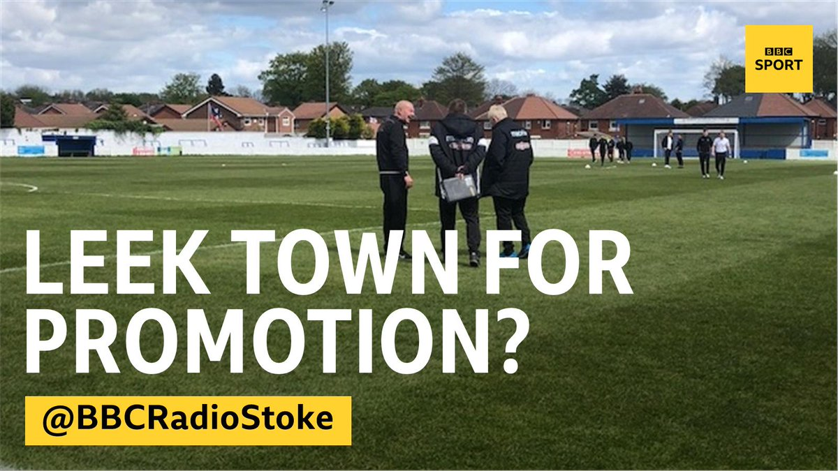 Were also covering @leektown at Radcliffe today in the Evo-Stik Premier Division Play-Off Final, but they might not get promoted if they win, due to a league restructuring across the country... 🎙️@domjdietrich will have updates throughout the afternoon,