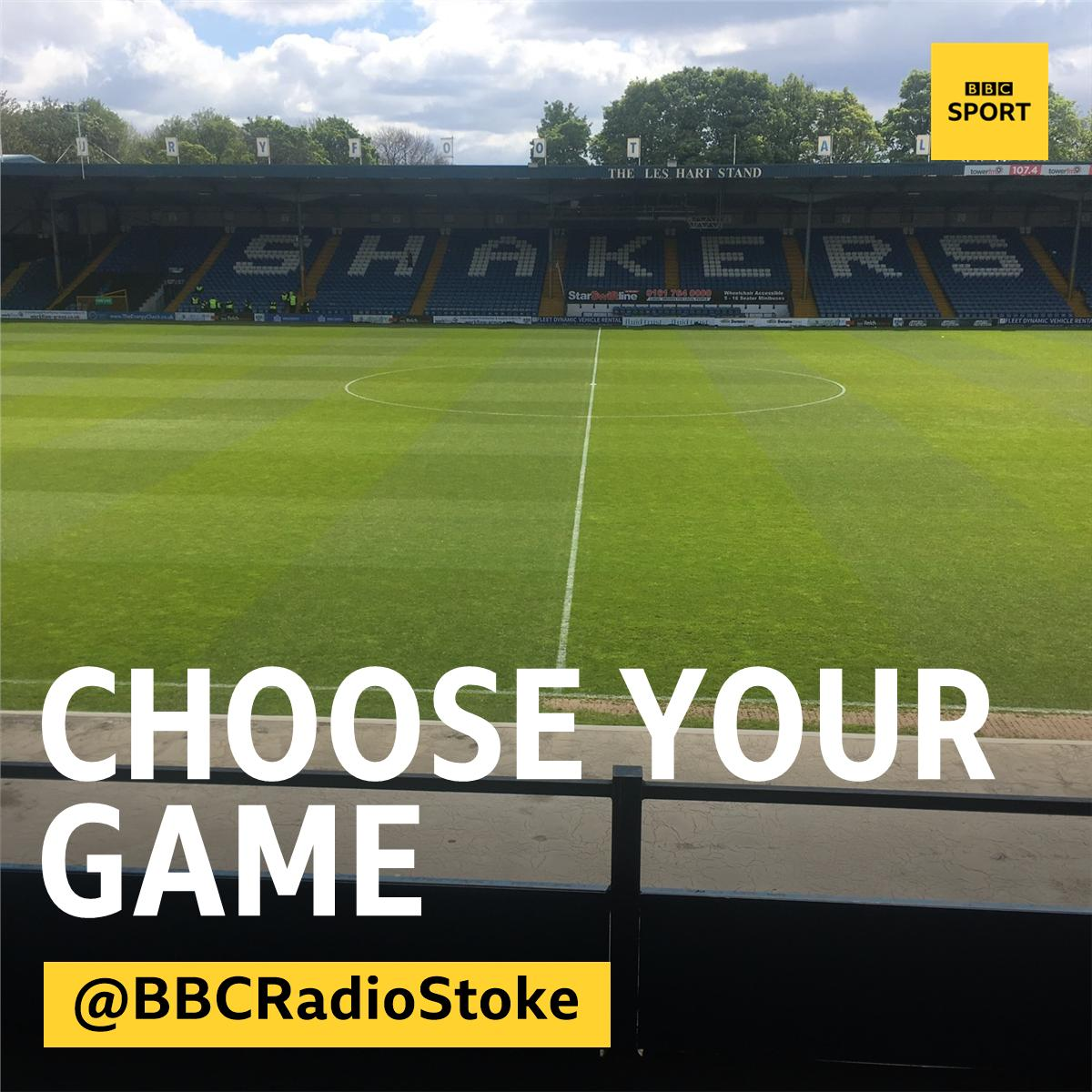 Its nearly time to split for our commentaries: ⚽️Bury vs #PVFC 🎙️@LeeBlakeman & Ray Williams 📻94.6FM & Freeview 726 ⚽️Grimsby vs #CreweAlex 🎙️@GMcGarrySport & @ThePeterMorse 📻 1503MW & DAB ⚽️Updates from @domjdietrich at Radcliffe vs Leek Town on 94.6FM & Freeview 726
