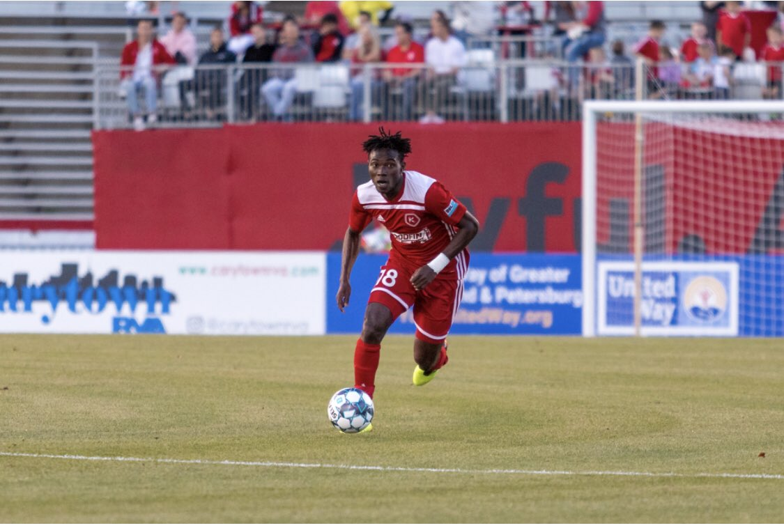 Ghanaian defender Wahab Ackwei nets debut goal for Richmond Kickers in US Open Cup
