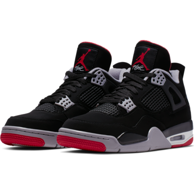 buy online ff5c2 0374e The  Jumpman23 Air Jordan IV  Bred  is now available at Nike NYC and Nike  SoHo.pic.twitter.com IscLmBTGhZ