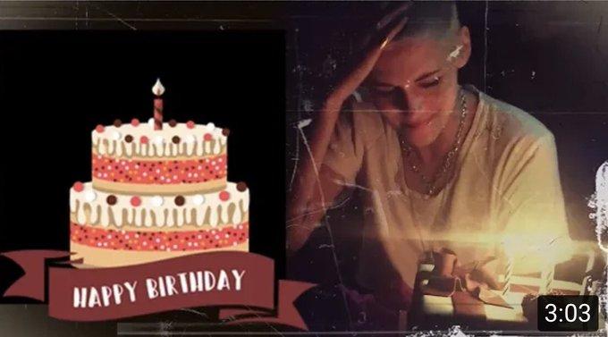 Kristen stewart ; happy 29th birthday! via