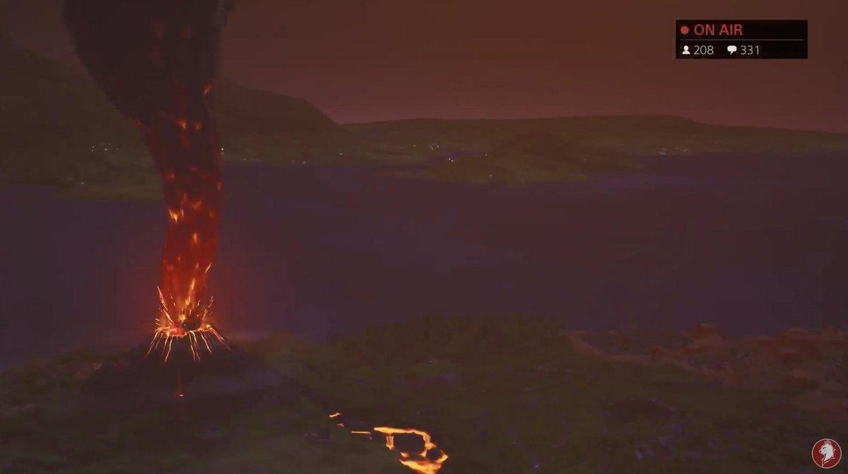 火山 ピーク ナイト フォート ポーラー