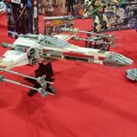 Image for the Tweet beginning: A big X-wing #brickslopes