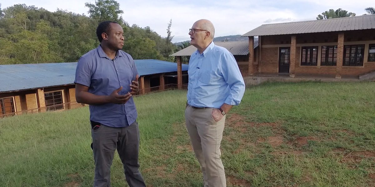 """Rwanda: """"We were kids. No one cared who was a Tutsi, who was a Hutu. I wish things remained that way, but. . ."""" @NBC cameraman #JBRutagarama who survived the 1994 genocide shares mission to give back. (7 min video w/ @harrysmith on @TODAYshow) #Kwibuka25 https://www.today.com/video/nbc-cameraman-who-survived-rwandan-genocide-shares-mission-to-give-back-58698309680…"""