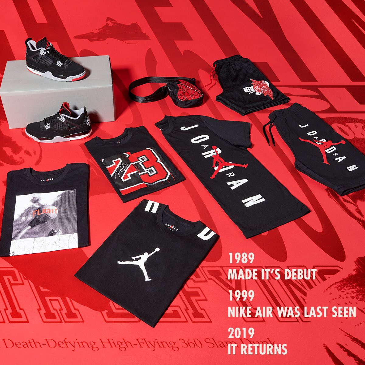 """a2e048f2758 Cop your Jordan """"Bred"""" fit now at Jimmy Jazz https   www.jimmyjazz.com jordan air-jordan-4-bred-collection  …pic.twitter.com dZllwxHAqd"""