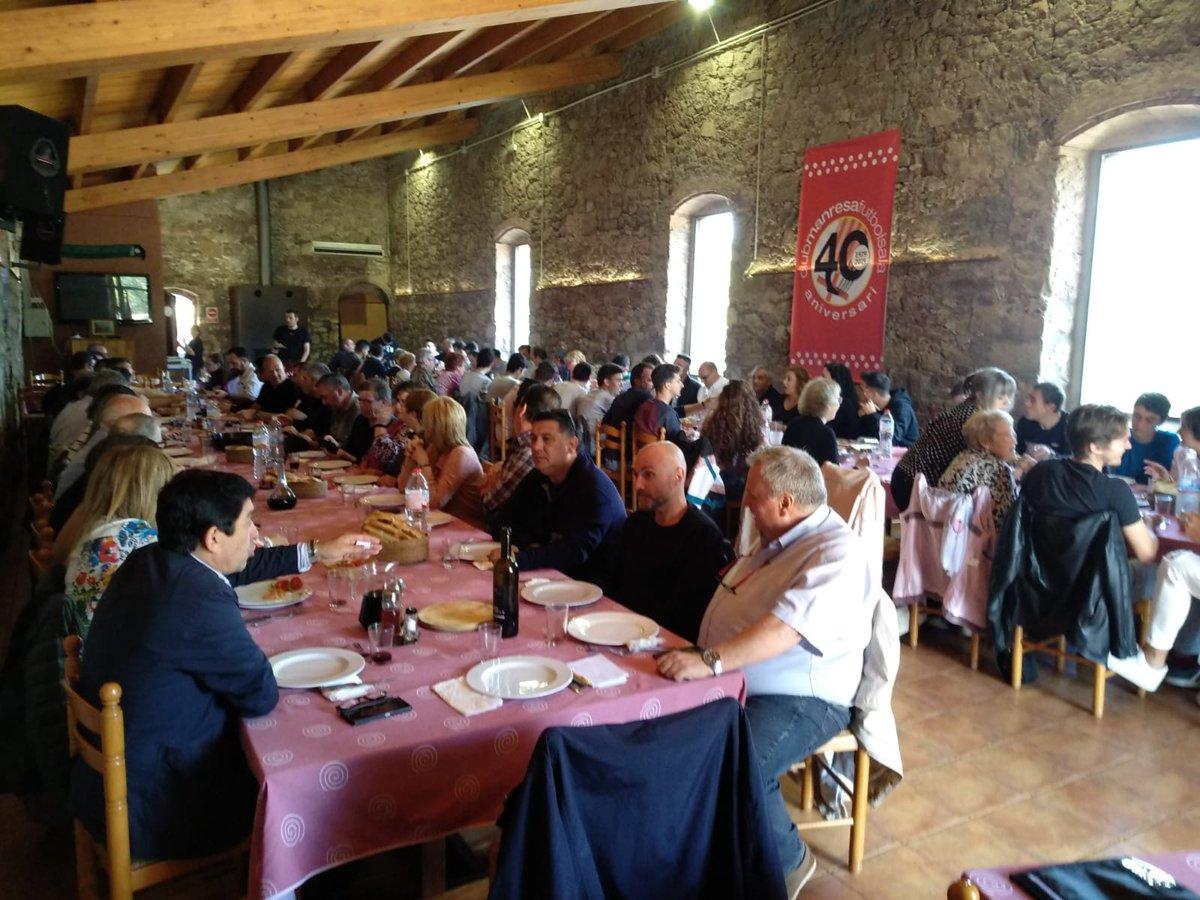 """Club Manresa F.S. on Twitter: """"Cloenda del dinar del 40 aniversari. Gracies a tots els assistents.… """""""