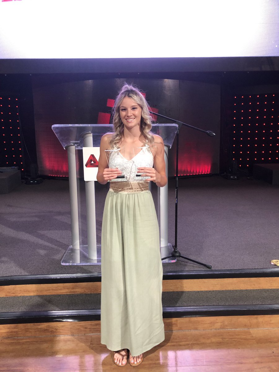 Winner of best game and female athlete of the year (2x) awards. Congratulations on a great career at ACU @CCchristmas7 #WestphalAwards https://t.co/MsCcSJwCsc