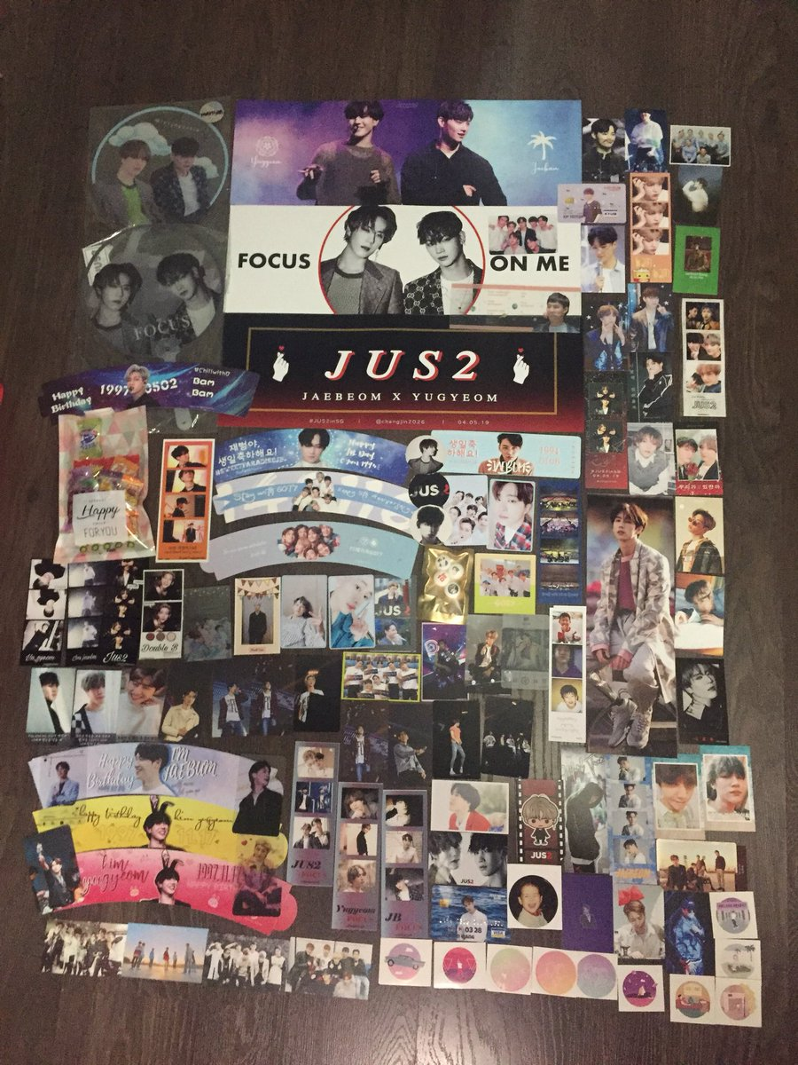 190504  Really thank you for those who trade with me and who give out fan support     Also would like to appreciate those who collected my fs, hope you guys like it!  I love my aghase family  #JUS2inSG #JUS2_FOCUSTOURinSG #JUS2inSingapore <br>http://pic.twitter.com/zDajyg5ech