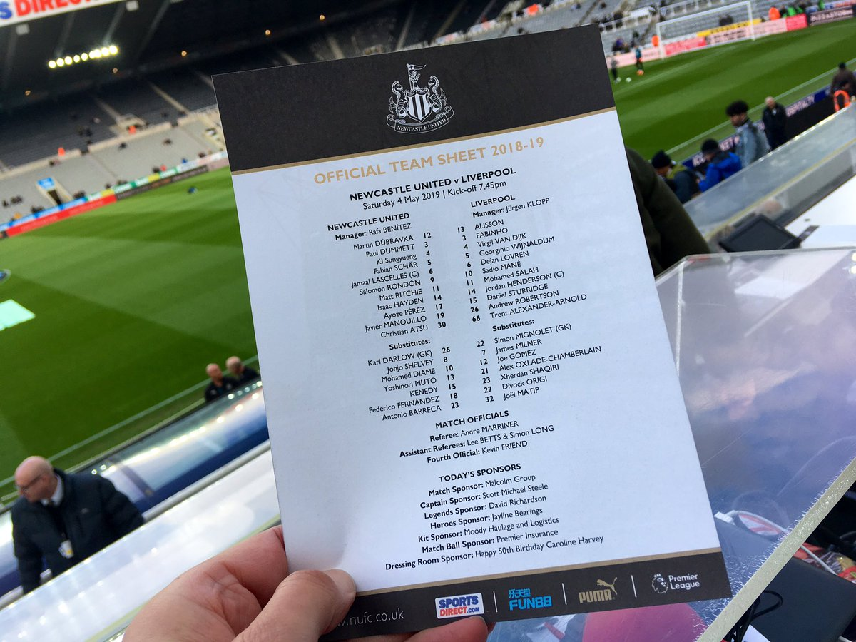 Commentary coming up on St James' Park's first Saturday night 7.45 kick off for a league fixture...with @MTLawrenson @bbc5live   #NEWLIV #bbcfoootball
