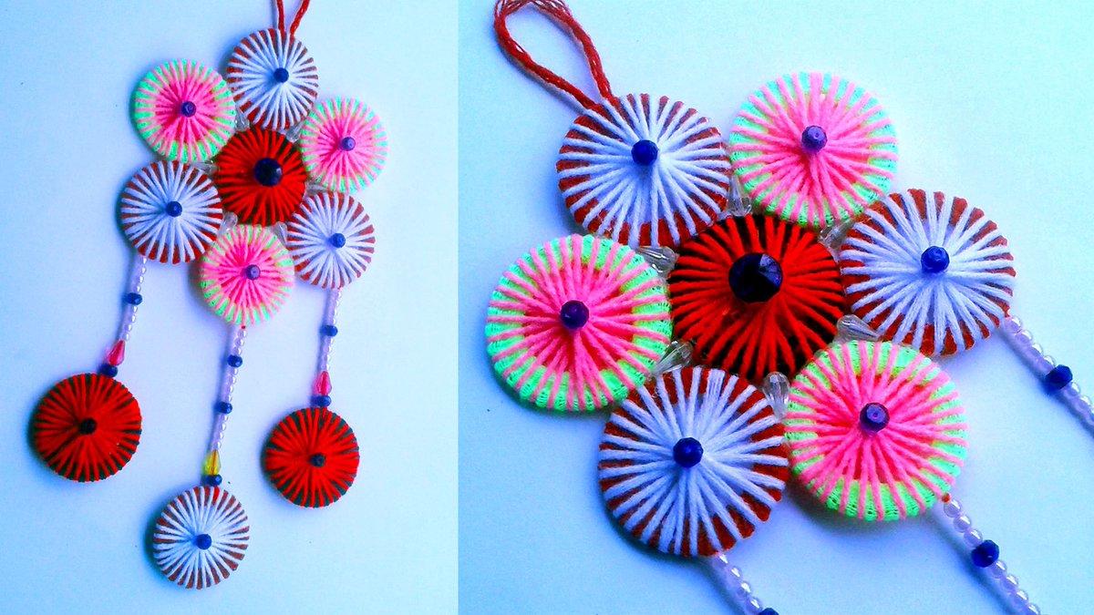 Woolen Flower And Crafts Woolencrafts Twitter