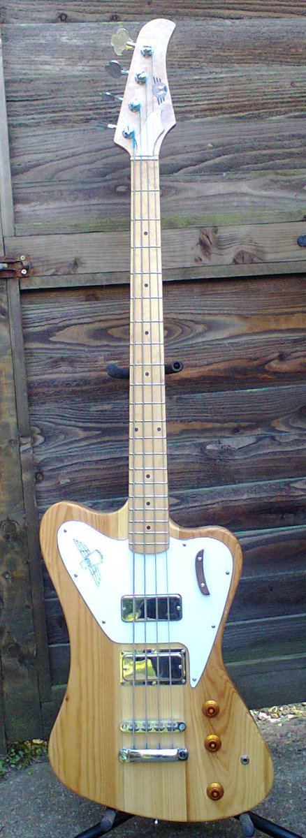 Butsermountainmusic jupiter thunder bird bass guitar BMM
