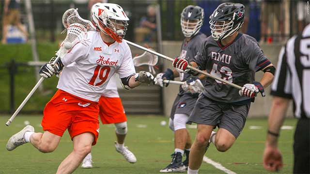 Late Hobart rally comes up short in NEC title game