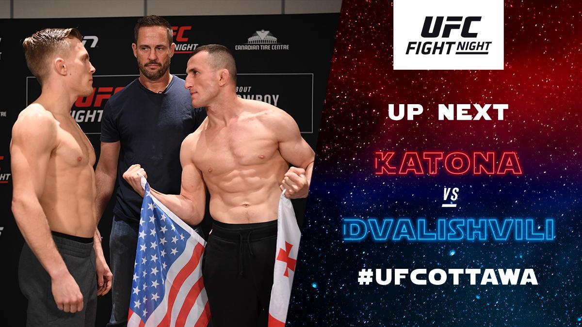 UFC Fight Night 151 Results - Merab Dvalishvili Hands Brad Katona His First Loss, Wins Via Unanimous Decision -
