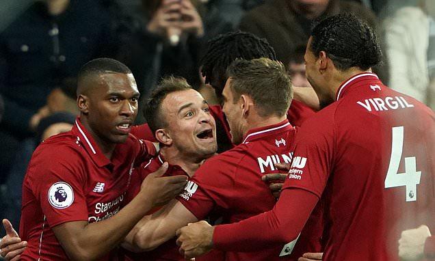 أهداف مباراة ليفربول ونيوكاسل 3-2 (الدوري الإنجليزي)