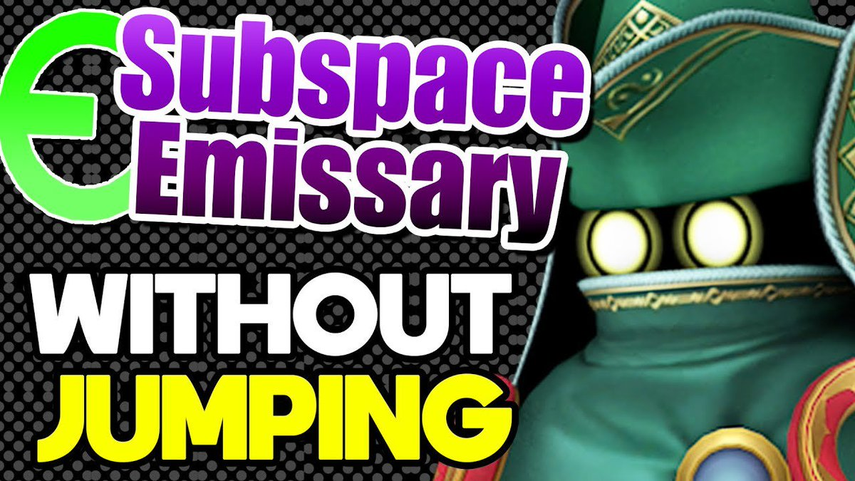 Parsec On Twitter Can The Subspace Emissary Be Completed Without