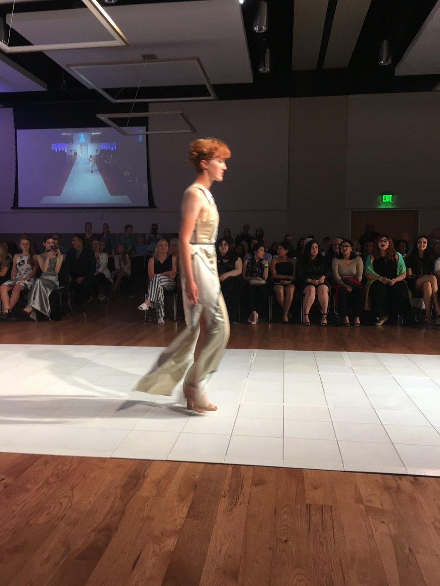 @UNTAdvancement ArtWear 2019 has begun and the clothes are amazing! #artwear2019 #CVAD