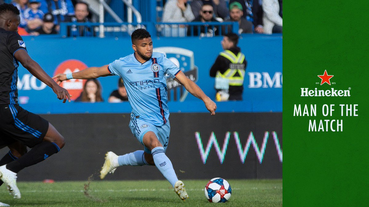 Shoutout to our guy @isitj29, your @Heineken_US MOTM ⭐️ #NYCFC