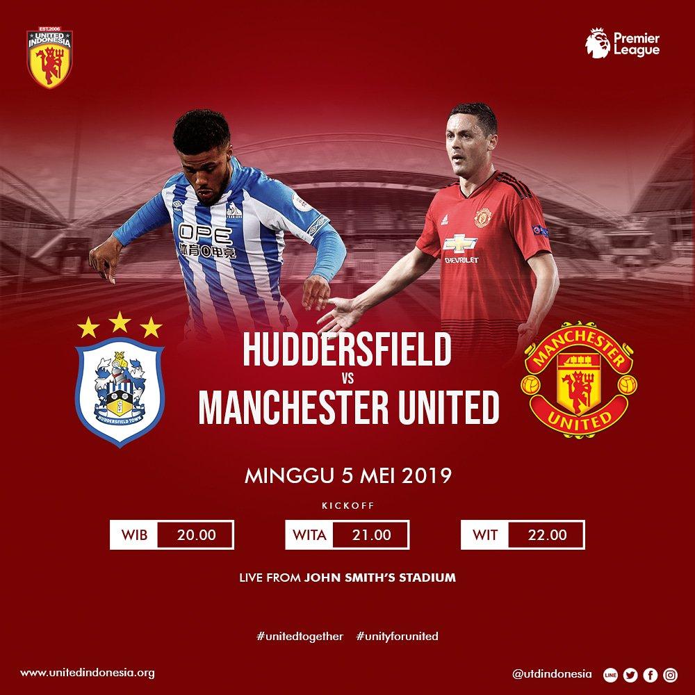 It's MatchDay !  Premier League Huddersfield vs Manchester United Minggu, 5 Mei 2019 Kick Off : 20:00 WIB John Smith's Stadium  Info lokasi live screening http://nobar.unitedindonesia.org Preview pertandingan http://fixtures.unitedindonesia.org  #UtdIndonesia  #UnitedTogether #UnityForUnited