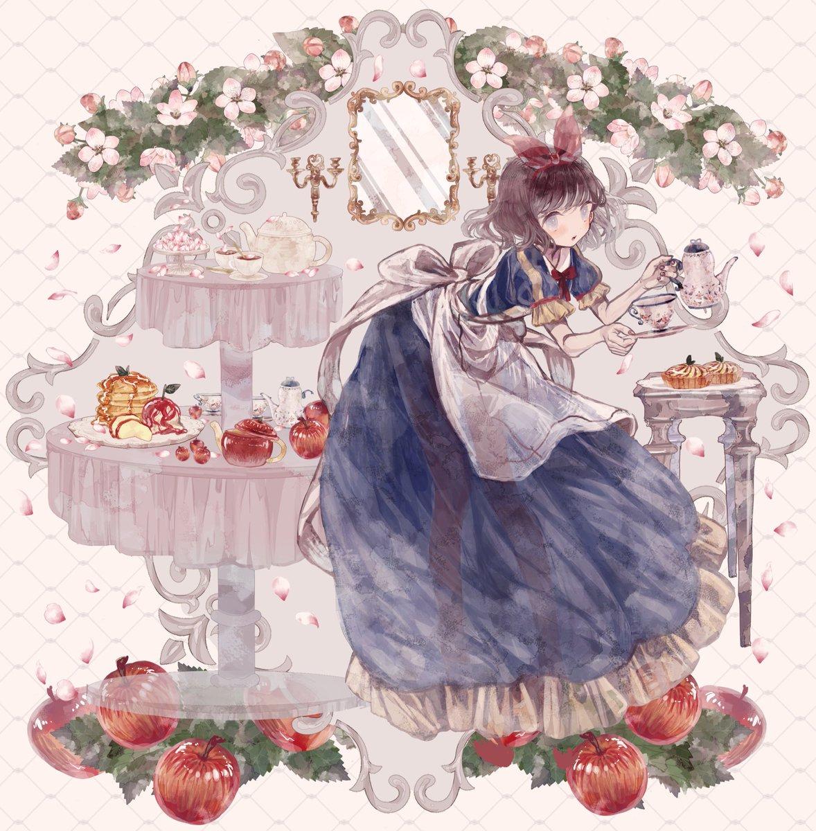 Twoucan グリム童話とメイド服 の注目ツイートイラストマンガ