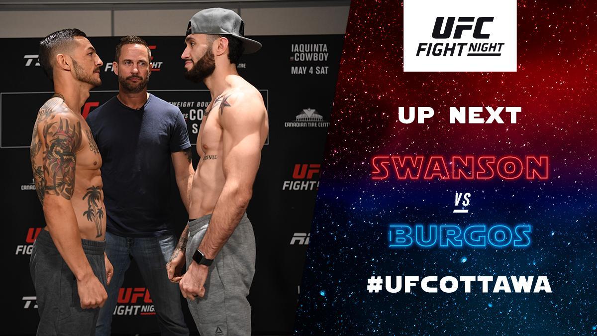 UFC Fight Night 151 Results - Shane Burgos Edges Cub Swanson, Wins via Split Decision -