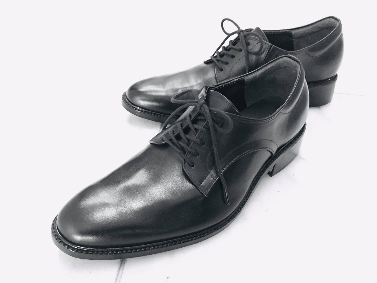 紳士靴 オーダーメイド就職活動用に作られました、このデザインなら社会人になっても使えますね。#紳士靴#オーダーメイド#野田靴屋