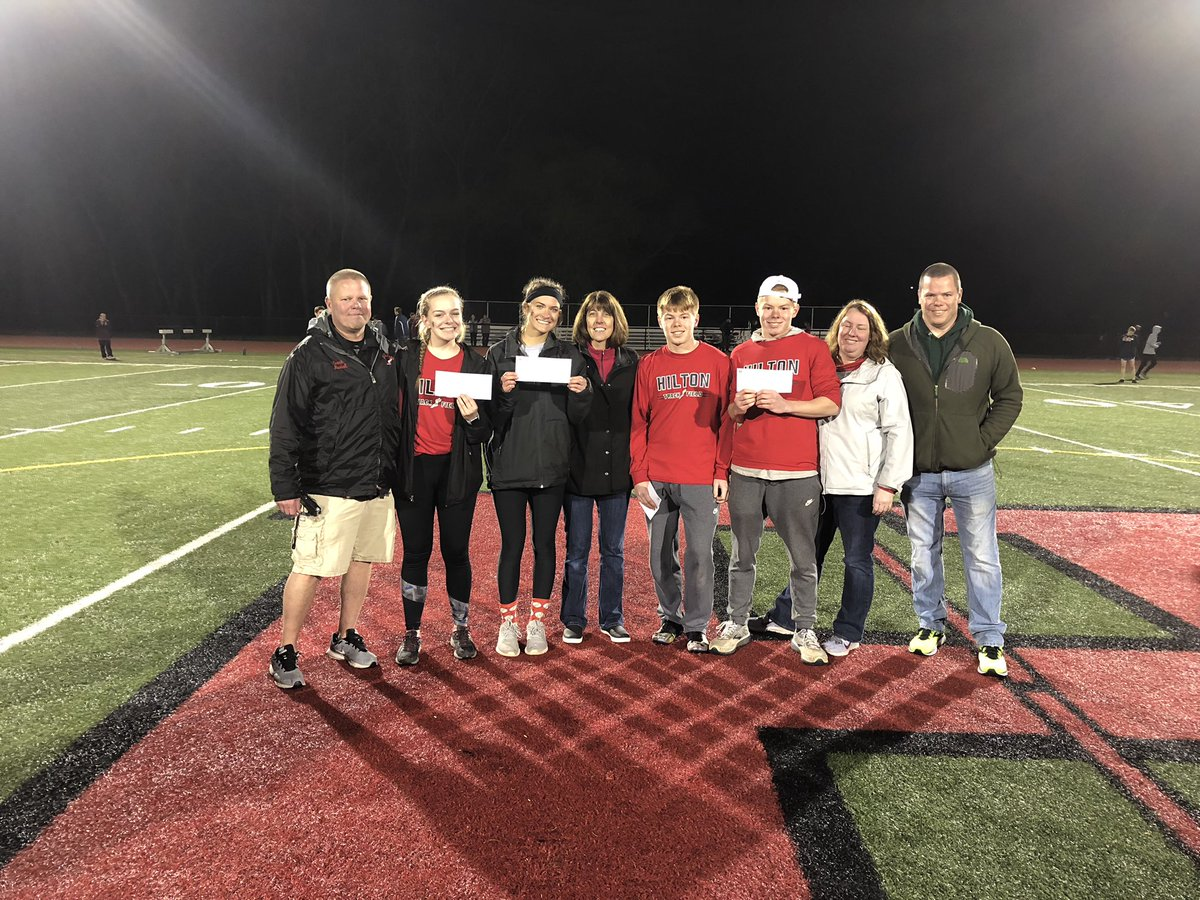 Congrats to Amanda Hough, Alex Dittman, John and Connor Bateman. The 2019 Al Mullan Scholarship winners! #GoCadets