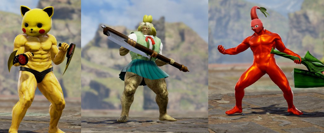 Smashtoons On Twitter The Soul Caliber Section Of Trgcolo Was Great Featuring Some Awesome Custom Characters From Thejewker Those Characters Also Included Some Uncomfortably Buff Nintendo Characters This Has Led To The