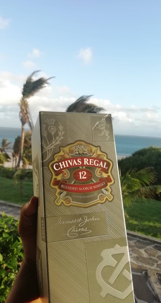 Let's the start day with @ChivasRegalUS  #Rodrigue #Mauritius