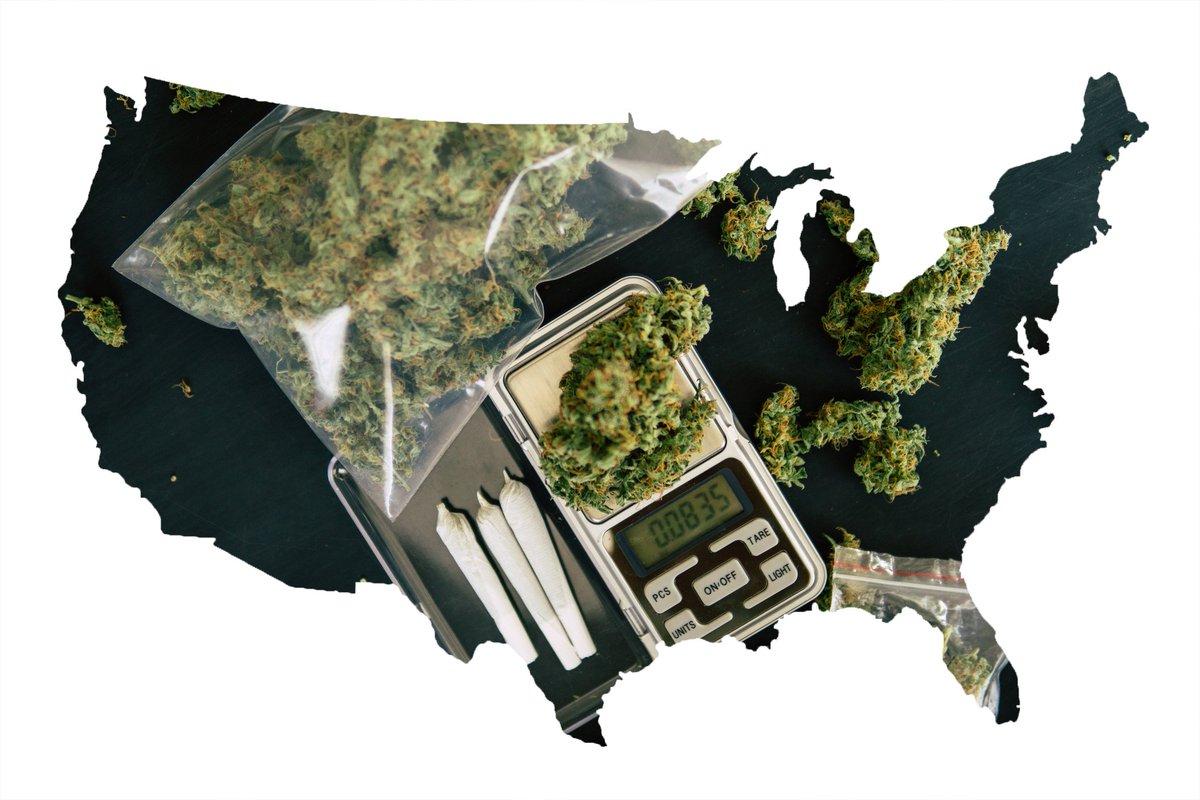 美国大麻全国价格不同 加州位居中下游
