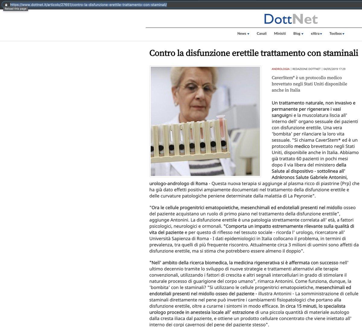 dr oz trattamento disfunzione erettile