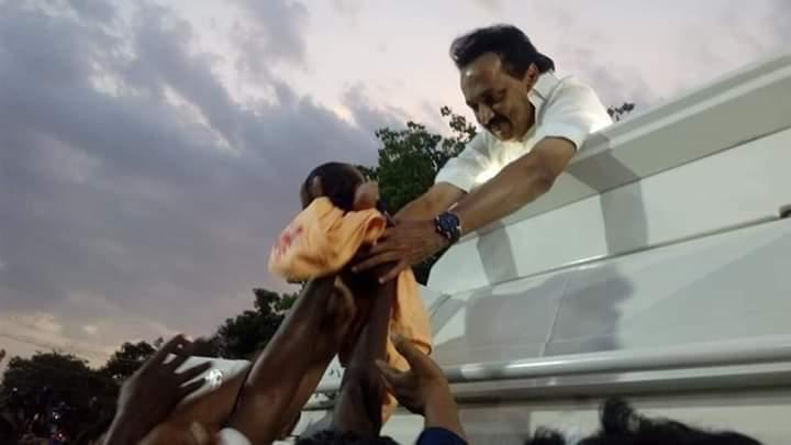 #குழந்தைகளின் #மனம் #கவர்ந்த #அன்பு #தலைவர் அண்ணன் #தளபதி...😍😍  #DMKThalaivarstalin  #FutureCMofTN 🔥