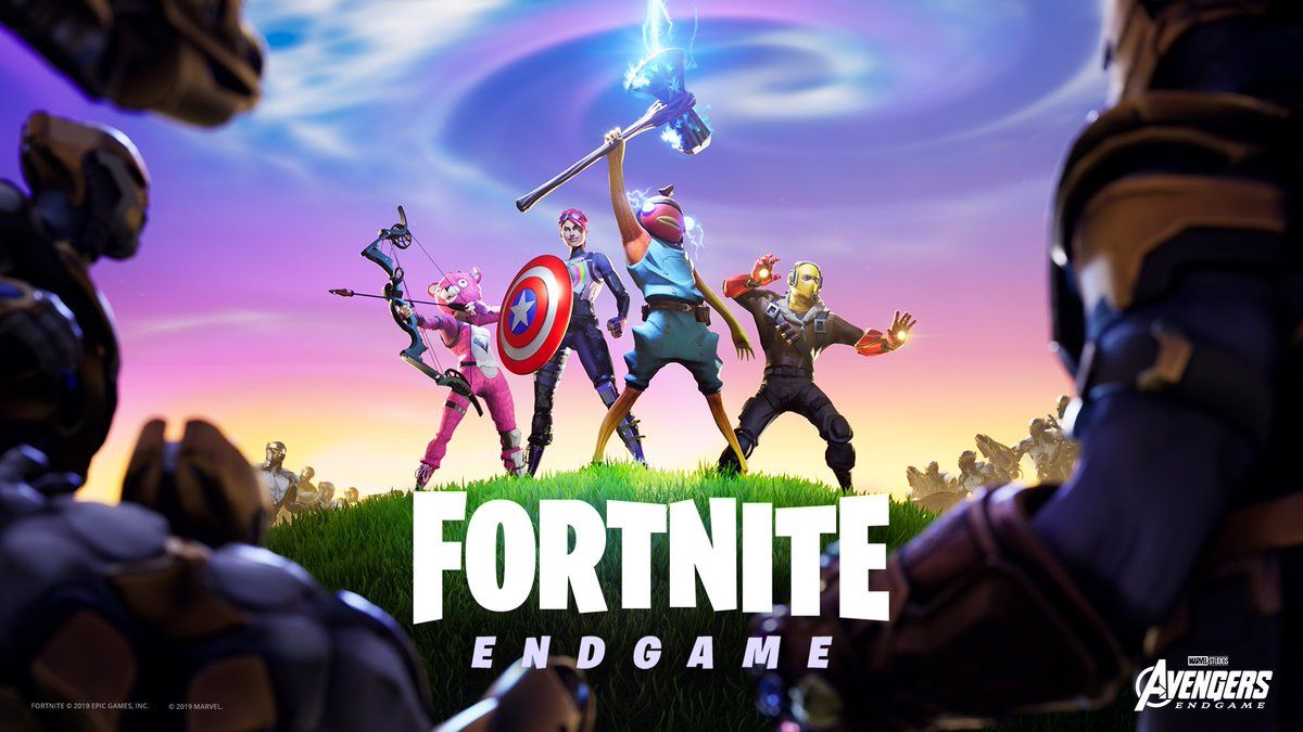 fight as chitauri and thanos or wield avengers endgame items in the endgame ltm the avengers endgame ltm is leaving soon so complete all of your - fortnite synchronisation