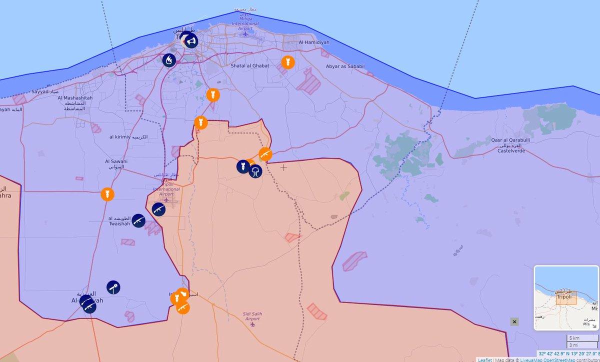 Наступление на Триполи. 05.05.2019