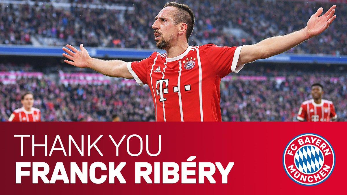 FC Bayern bestätigt: Franck Ribery verlässt den Klub am Saisonende