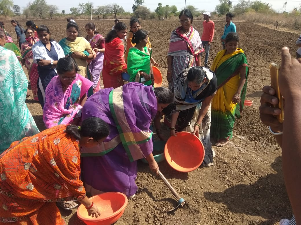 #Pani foundation #Katpur @INCIndia @MahilaCongress