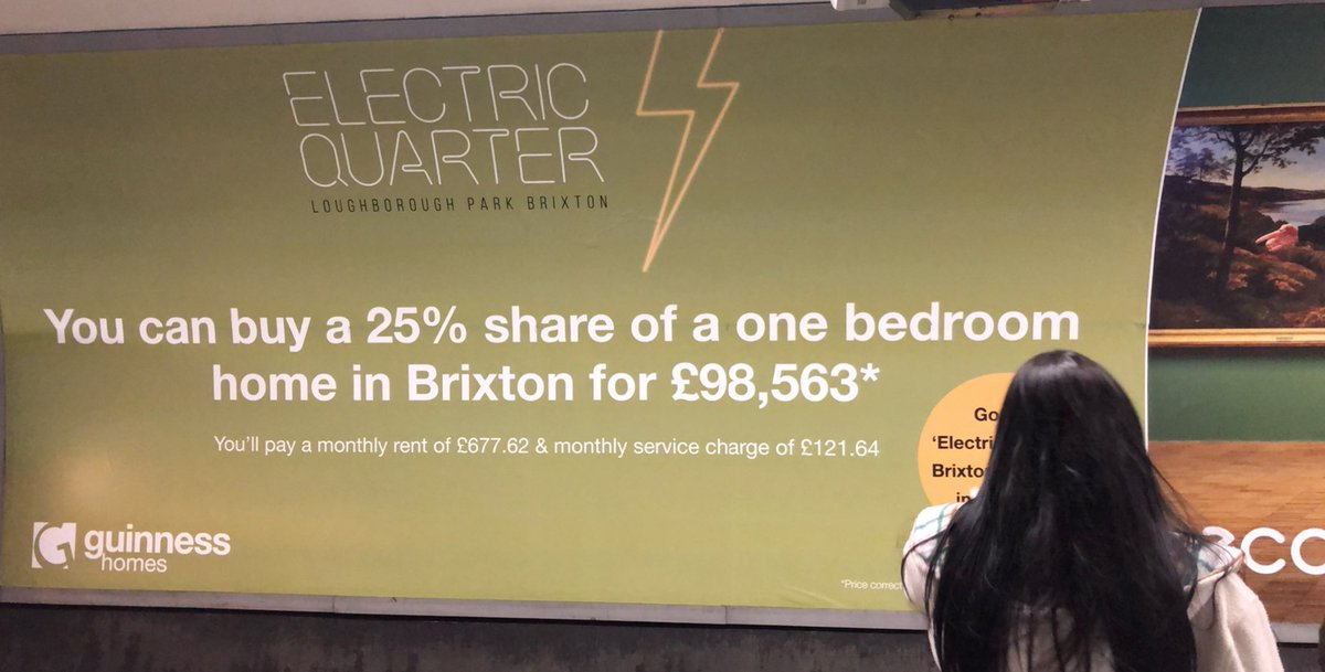 I saw this add on the underground. Can you just take in those numbers please.