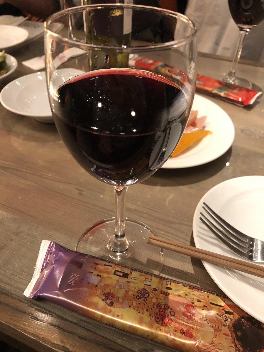 ワインで合格アンド就職祝われてます