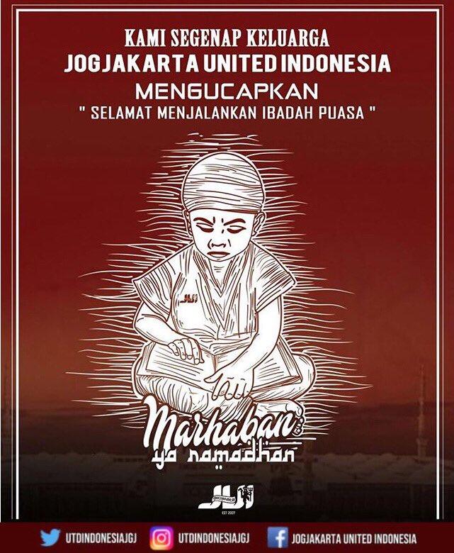 Ramadhan Kareem... Selamat menunaikan ibadah puasa 1440 H . Semoga di Bulan Suci kali ini membawa banyak berkah, pahala & kedamaian bagi kita semua 🙏🏻 . #MarhabanYaRamadhan #JUI #UtdIndonesia #unitedtogether