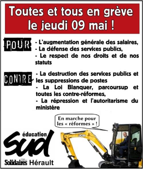 9b6e27cb5b2 ... Nationale et de l Enseignement supérieur à se mettre en  greve aux côté  de toute la  FonctionPublique le jeudi 09 mai.